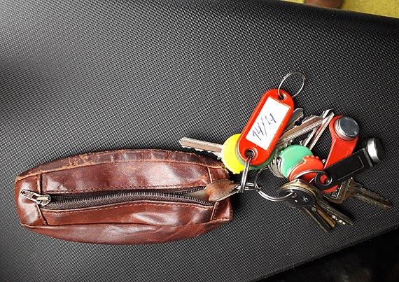 W autobusie Komunikacji Miejskiej znaleziono klucze