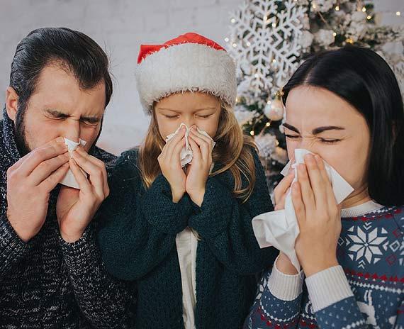 Świąteczny koszmar! Gdy przeziębienie atakuje nie w porę