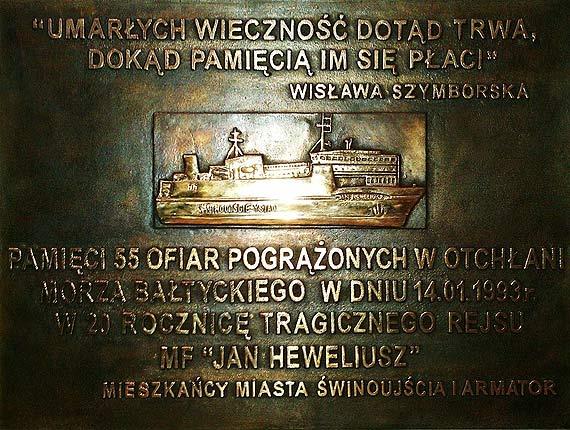 """W poniedziałek rocznica zatonięcia mf """"Jan Heweliusz"""""""