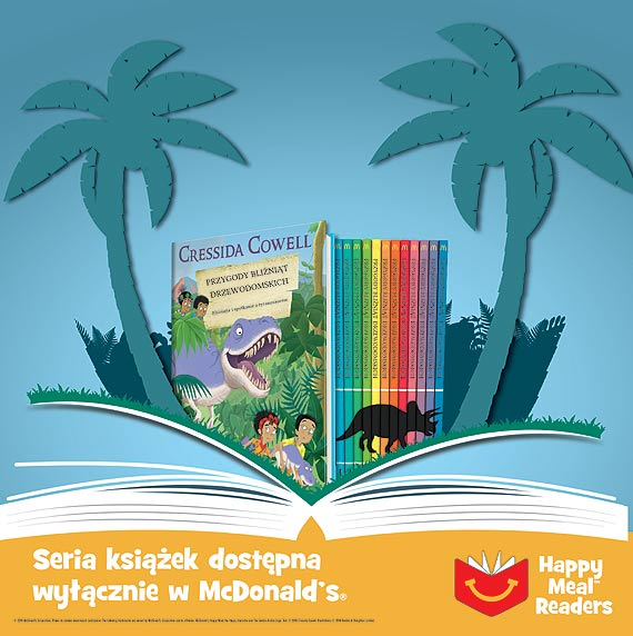 Książka albo zabawka – Happy Meal ze specjalną serią książek Cressidy Cowell