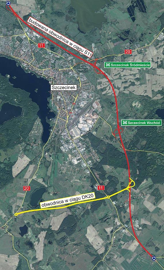 Został zatwierdzony Program Inwestycji dla budowy obwodnicy Szczecinka w ciągu DK20