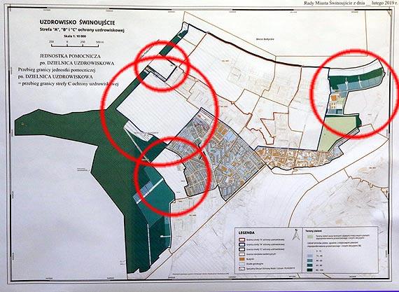 Nowe granice dzielnicy Uzdrowiskowej