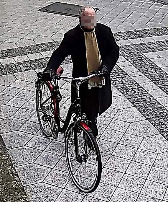 Skradziono rower. Widziałeś sprawcę?