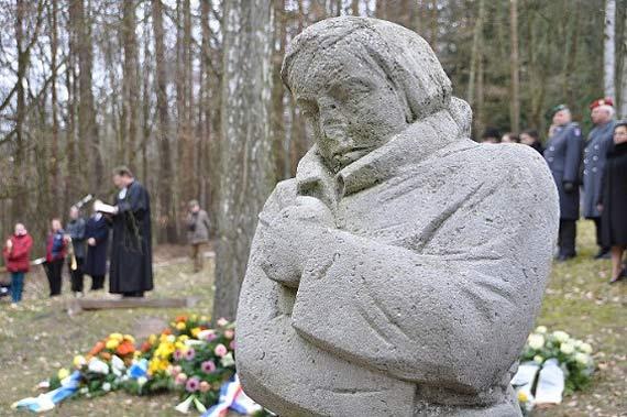 Uroczystości upamiętniające poległych podczas alianckiego nalotu bombowego na miasto Świnoujście dnia 12 marca 1945