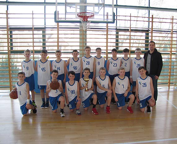 Ćwierćfinał Wojewódzkich Igrzysk Dzieci ( Region B) w piłce koszykowej – chłopców