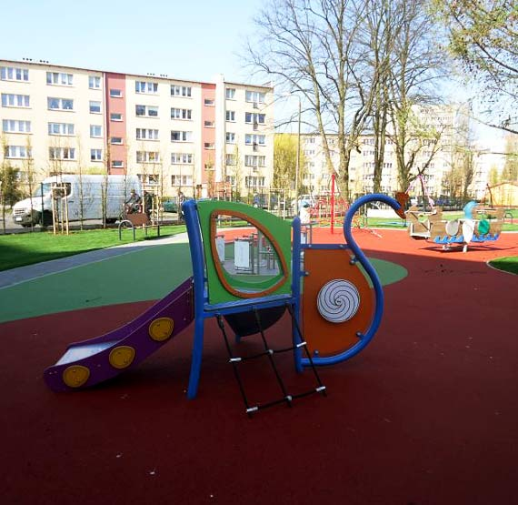 Przedszkole Bajka ma plac zabaw jak z bajki