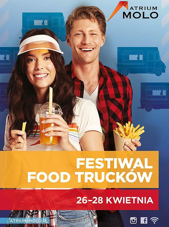 Atrium Molo rozpoczyna sezon na food trucki!
