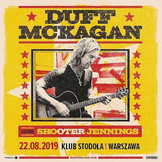 Duff McKagan – basista Guns N' Roses na koncercie w Polsce!