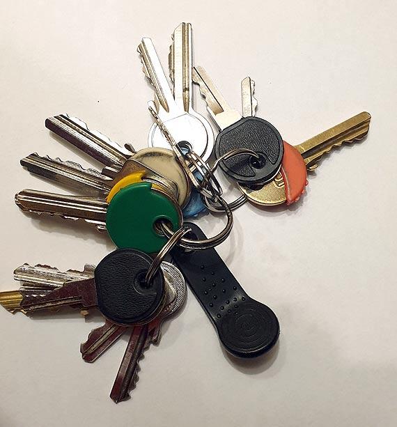 Kto zgubił pęk kluczy?