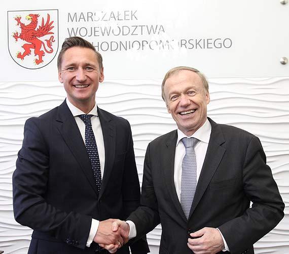O współpracy, sąsiedztwie i rozwoju po obu stronach Odry. Spotkanie Geblewicz – Nikel