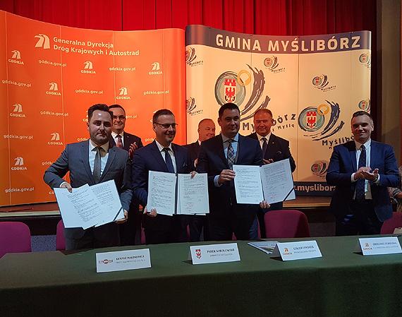 Umowa na budowę obwodnicy Myśliborza w ciągu DK26 podpisana