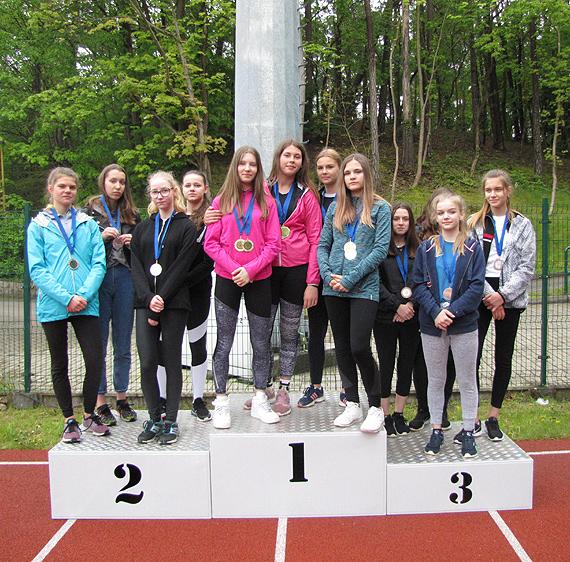 Zawody indywidualne w lekkiej atletyce w Ramach Igrzysk Młodzieży Szkolnej - 2018/2019