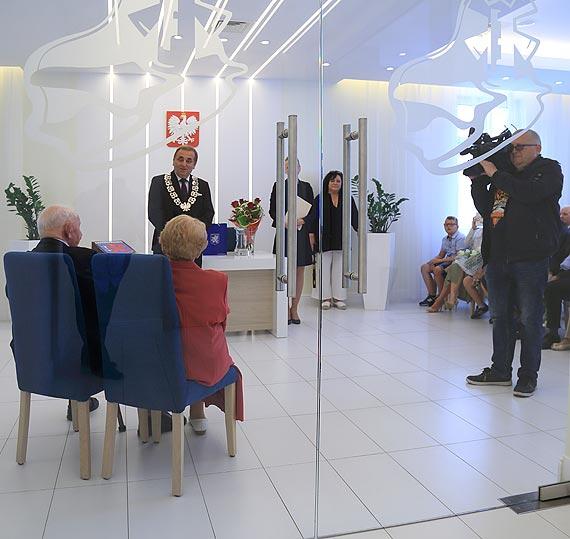 """""""70 lat za rękę""""- piękny jubileusz Państwa Dobrzyńskich"""