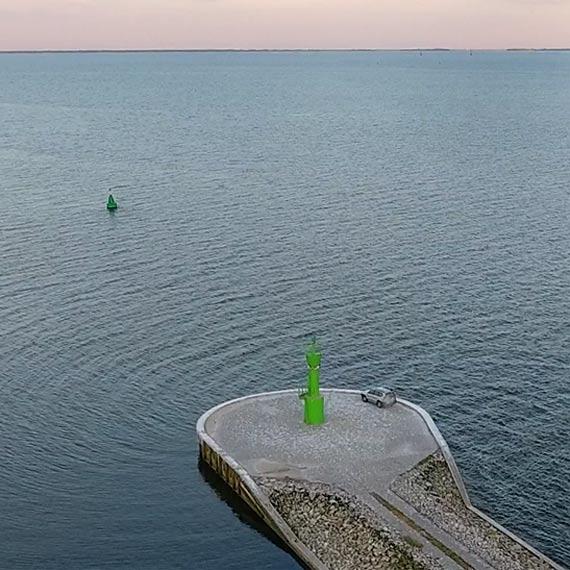 W wodach Zalewu Szczecińskiego jest bomba! Wkrótce akcja saperów!
