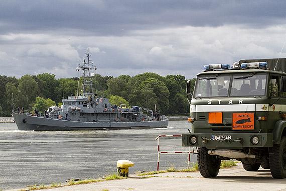 Neutralizacja miny morskiej z okresu II Wojny Światowej w Świnoujściu