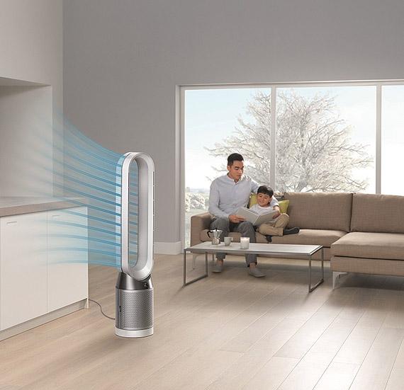 Firma Dyson wprowadza nowy oczyszczacz powietrza, aby dokładnie oczyszczać powietrze w całym pomieszczeniu