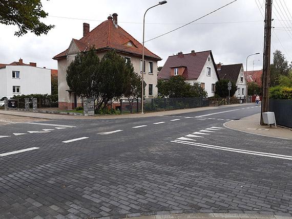 Ulica Toruńska zupełnie nowa