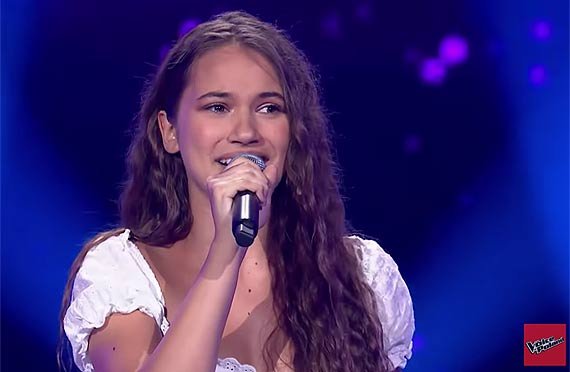 """Alicja Szemplińska w """"The Voice of Poland"""""""