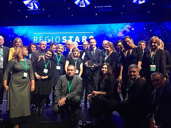"""Europejska nagroda """"Regio Stars"""" dla Pomorza Zachodniego. Projekt """"Dobre wsparcie"""" zwyciężył"""