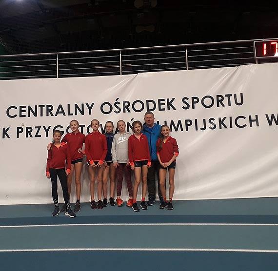 Hania Owczaruk halową mistrzynią Polski w biegu na 600m