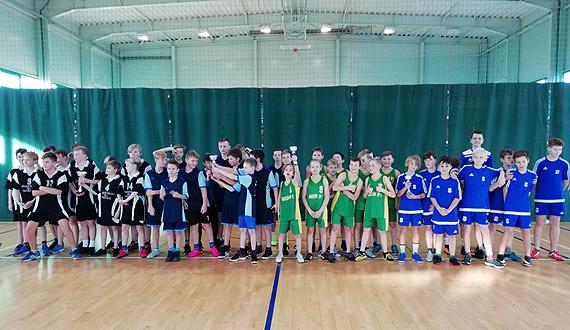 Igrzyska dzieci w piłce koszykowej chłopców