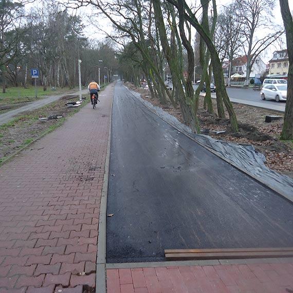Na ul. Wojska Polskiego ścieżka rowerowa będzie przesunięta