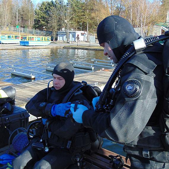 Zimowe zgrupowanie nurków Marynarki Wojennej