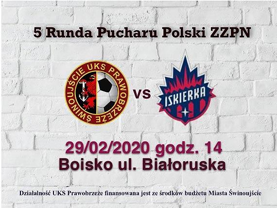 Prawobrzeże Świnoujście - Iskierka Szczecin 5 runda Puchar Polski