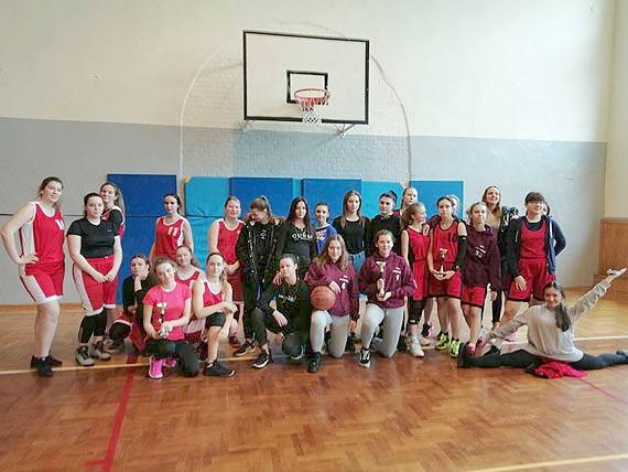 Licealiada - piłka koszykowa dziewcząt