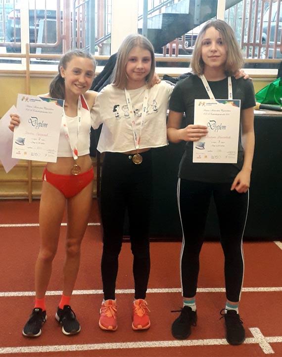 Trzy medale sprinterek Maratonu