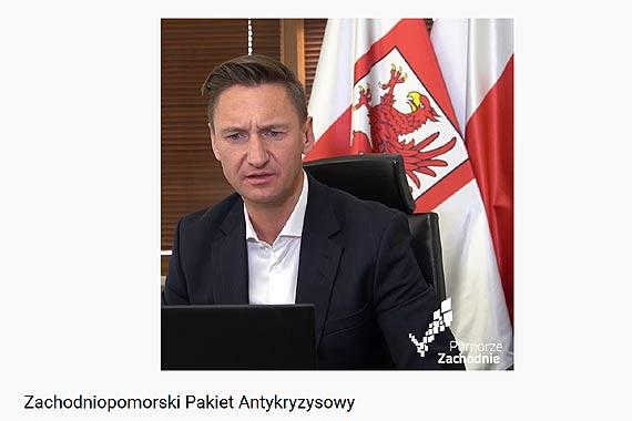 Marszałek Województwa zapowiedział Wdrożenie Zachodniopomorskiego Pakietu Kryzysowego