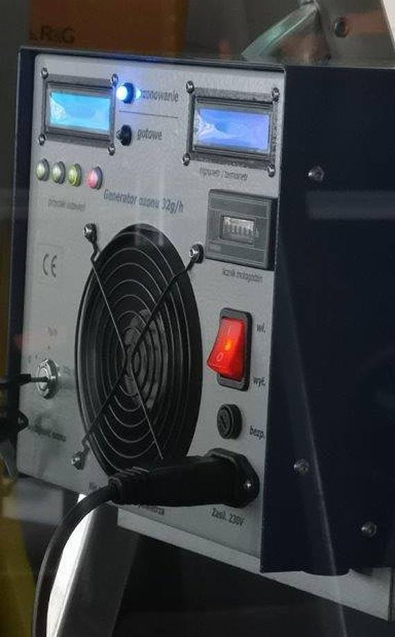Komunikacja ozonuje miejskie autobusy, dezynfekuje wiaty