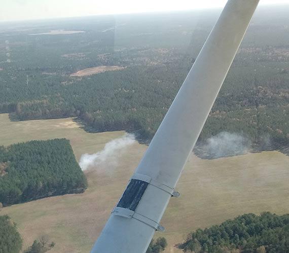 Zagrożone pożarem. Lasy pod ochroną leśników i strażaków