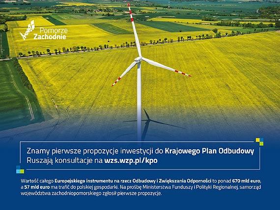 Znamy pierwsze propozycje inwestycji do Krajowego Plan Odbudowy - ruszają konsultacje