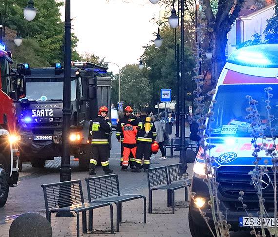 Ogień w domu wielorodzinnym przy Słowackiego. Ewakuowano 2 osoby