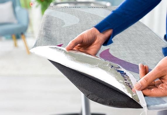 Nowość! Deska Total Reflect Plus M od Viledy – nowe rozwiązanie, szybsze prasowanie!