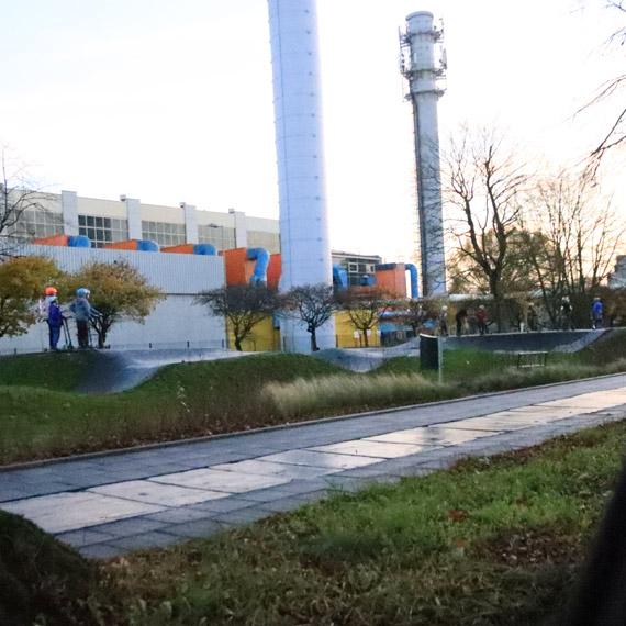 Oświetlą pumptrack  przy Grunwaldzkiej