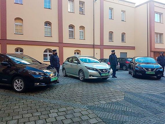 Eko-radiowozy dla Komendy Wojewódzkiej Policji w Szczecinie