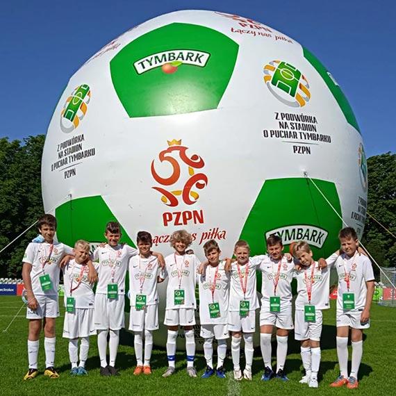 Piłkarze SP1 dwukrotnym zwycięzcą Zielonych Wyzwań