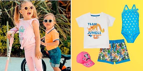 Kolorowa i wygodna  – wakacyjna moda dla dzieci