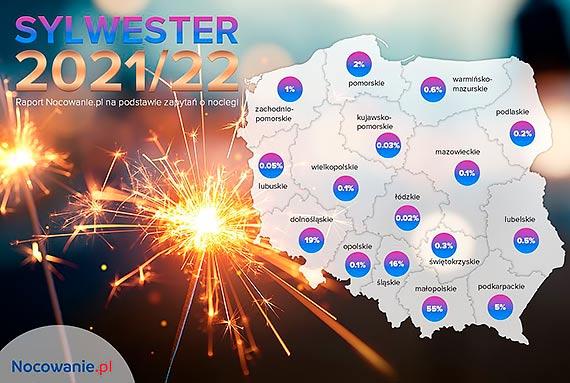 Turyści zaczynają rezerwować noclegi na sylwestra 2021/22!