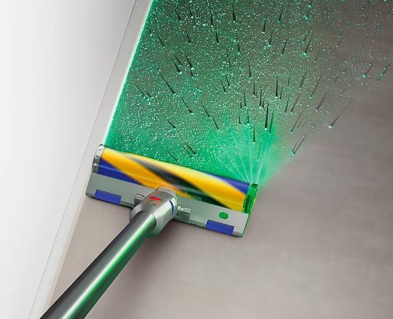 W trosce o czystsze domy: przełomowa technologia firmy Dyson – laserowe wykrywanie kurzu
